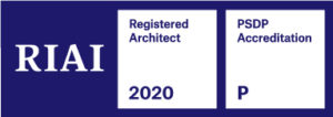 RIAI Registered Architect 2020 & PSDP Accredited