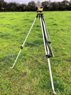 Dumpy Level | Level Survey | Grass | Eoin O'Keeffe 002