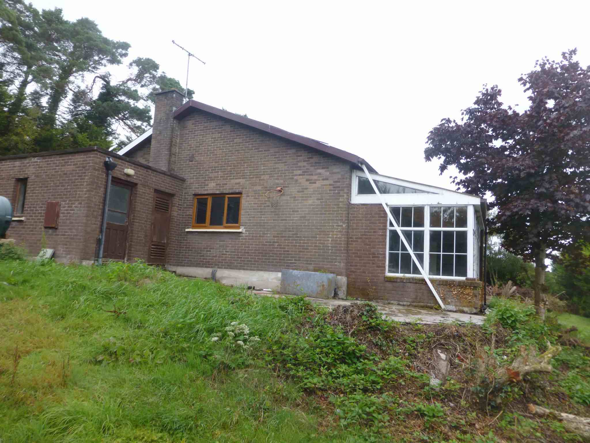 Existing House Before Works, Fermoy, Eoin O'Keeffe Architects