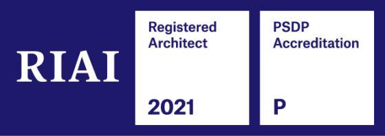 2021 RIAI Registered Architect Logo | RIAI Membership | Eoin O'Keeffe Architects.