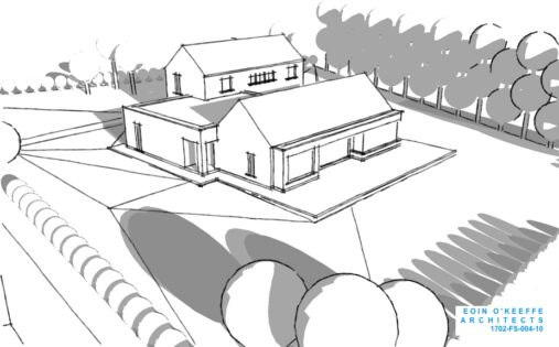 New House 3D | Dungarvan | Rural Site | Eoin O'Keeffe Architects
